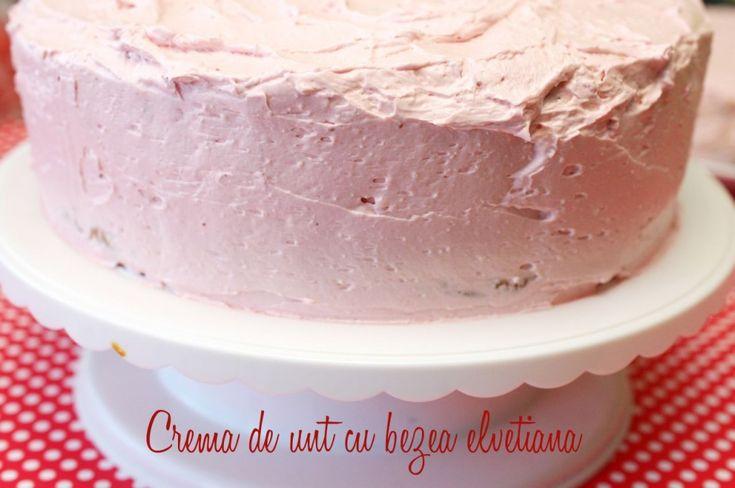 Crema de unt si bezea elvetiana - Retete culinare by Teo's Kitchen