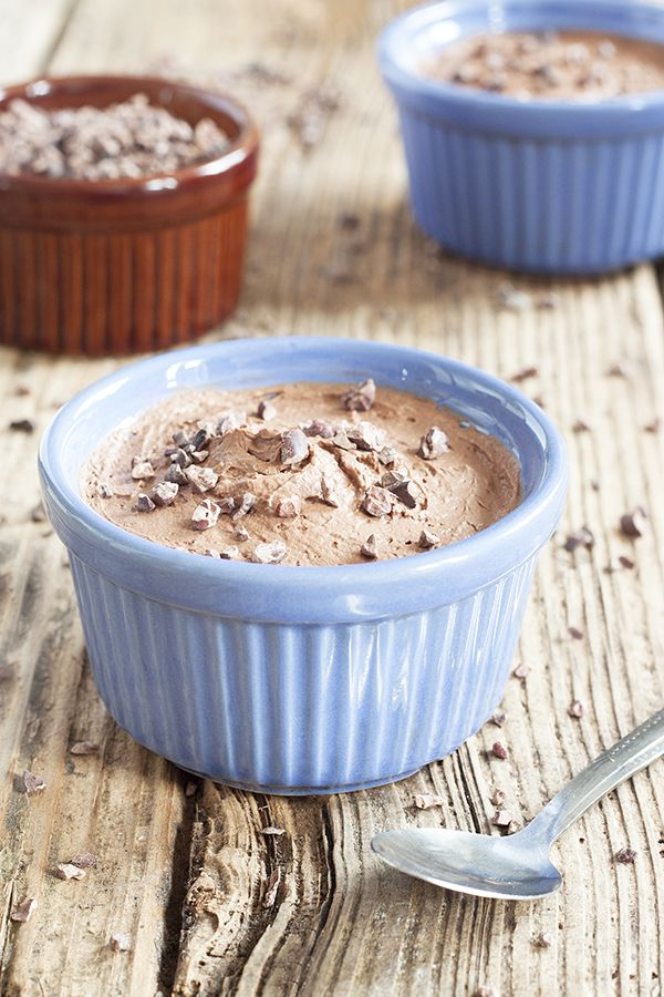 Dairy Free Chocolate Mousse Recipe | CookBakeEat