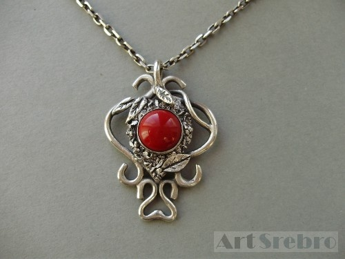 Pendant from the planet earth