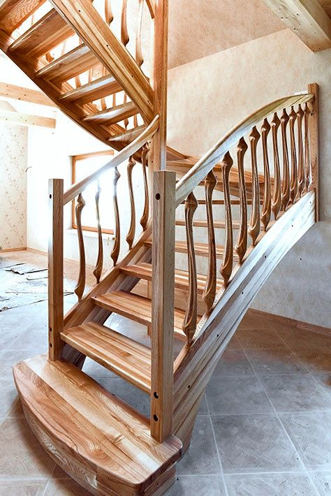 Best Natural Wood Stairs Stairs Wood Stairs Wooden Stairs 640 x 480