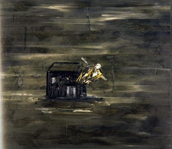 Znalezione obrazy dla zapytania david lynch painting