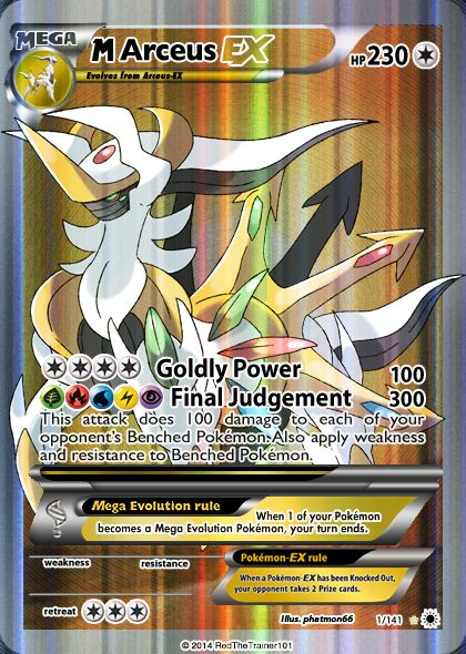 Restoring Judgementcreated by RedTheTrainer101. Mega Arceus Remake!   He's coming. And he's better than ever. Mega Arceus is Back!