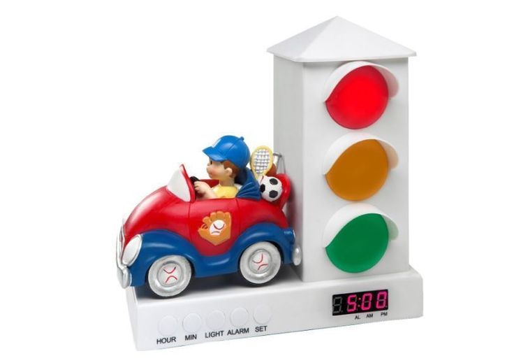 Alarm Clocks 79643: Stop Light Alarm Clock For Kids Clocks Digital Fun Red Blue Boys Car Stay Inbed -> BUY IT NOW ONLY: $43.99 on eBay!
