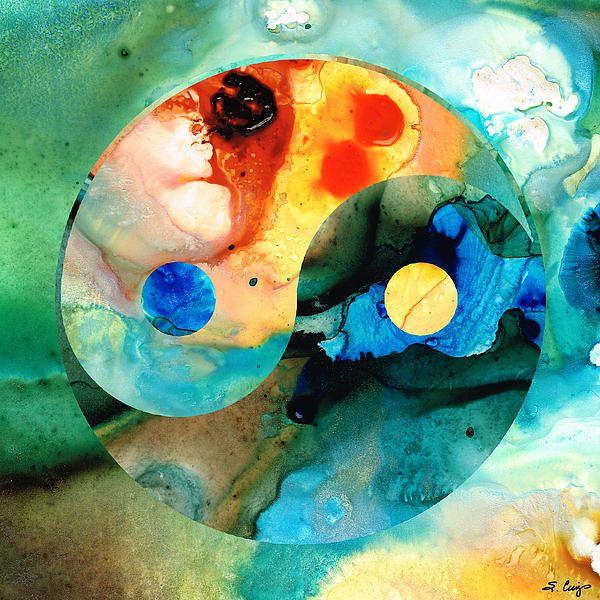 Image result for yin yang art
