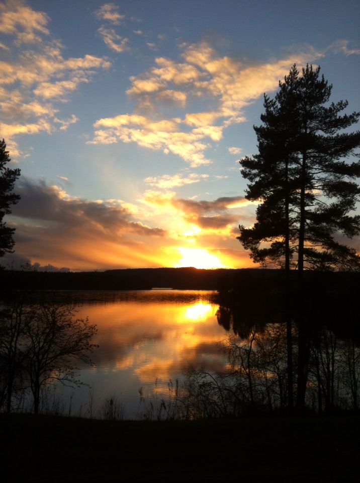 Sunset @ Saarijärvi