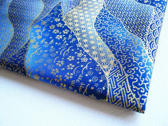 Japanese Kimono Cotton Fabric - potential cushion cover