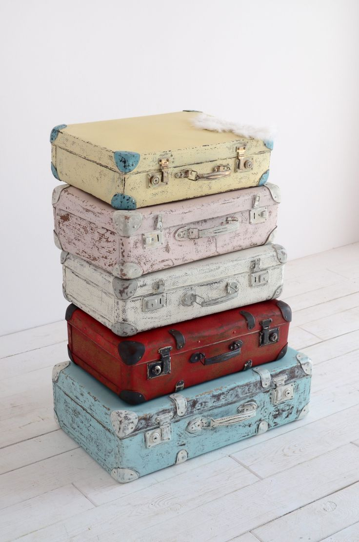 212 best suitcase makeovers images on Pinterest | Vintage luggage ...