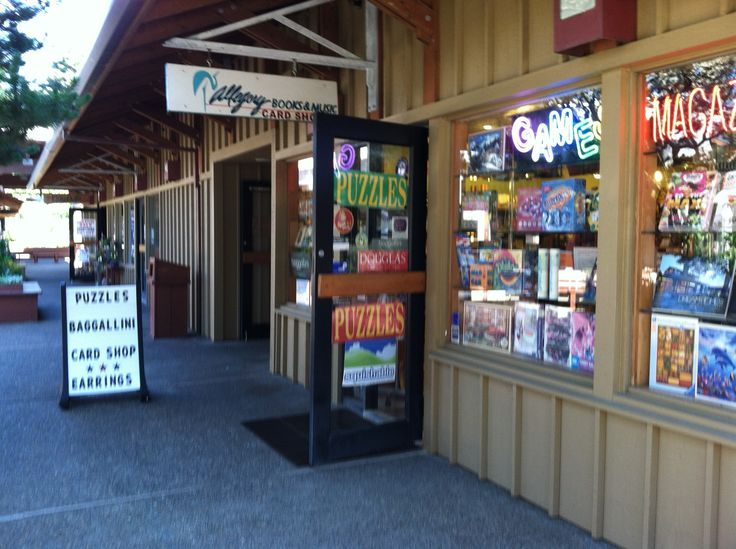 Allegory Books and Music, The shops at Salishan, Gleneden Beach, OR