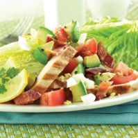 Chicken, Bacon and Cheese Wedge Salad by @mytexaslife