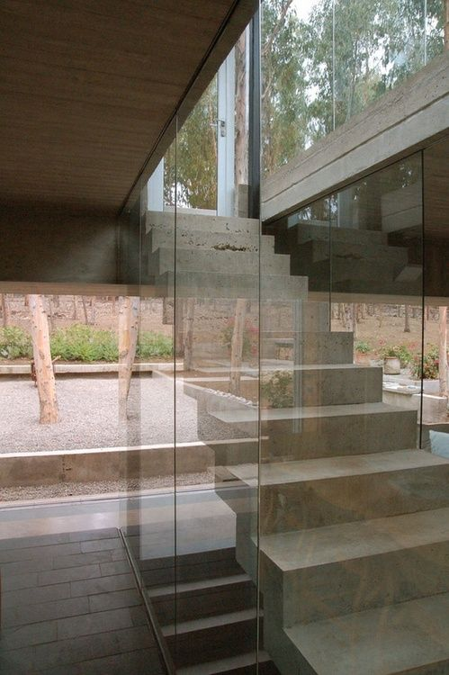 Staircase At The Omnibus House By GUBBINS ARQUITECTOS