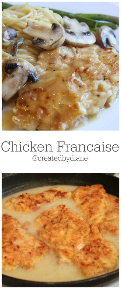 Chicken Francaise from @createdbydiane  http://www.createdby-diane.com/2012/07/chicken-francaise.html