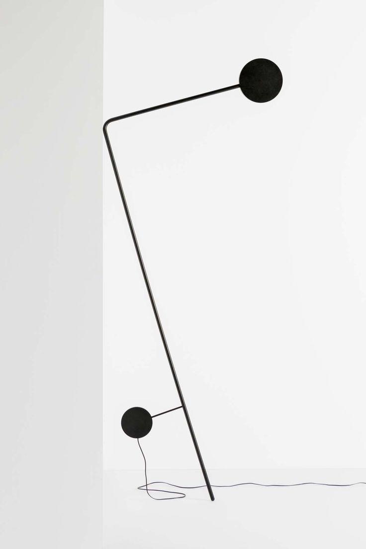 Fools Gold Lot1 Black And White Noir Et Blanc Black Object Design Objects Design Lighting Designer Objects B Lampadaire Diy Lampes Noires Lampe