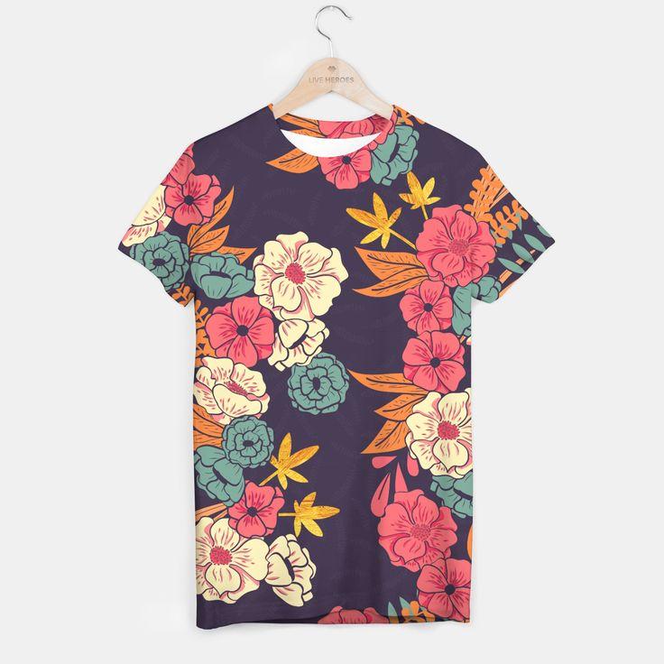 Jungle Pattern 006 T-shirt, Live Heroes