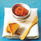 Tapenade van geroosterde paprika en peper