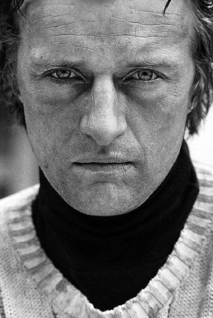 Rutger Hauer portrait taken on NYC location of The Nighthawks, 1980 by Bob Willoughby
