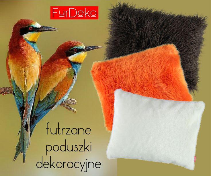 Długowłose, kolorowe i gładkie Emotikon smile do wyboru, do koloru :)  Najpiękniejsze futrzane poduszki dekoracyjne tylko na FurDeko.pl