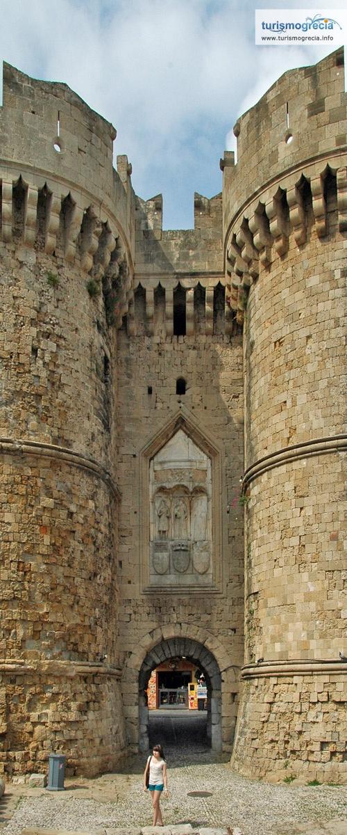 Maravilhoso Palácio dos Grandes Mestres - #Rodes, Grécia