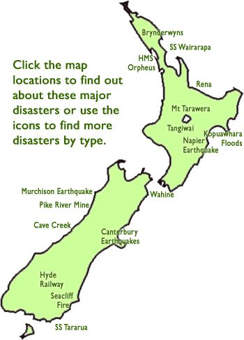New Zealand Disasters - Kids - Christchurch City Libraries
