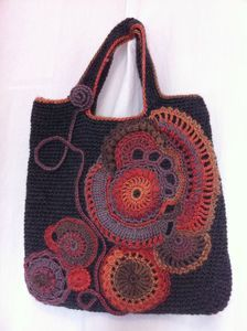 sac freeform réalisé par Anne Luzuy (Volvic)