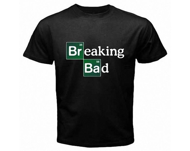 Breaking Bad Walter White Bryan Cranston Black Tshirt-279