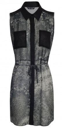 Lace Animal Print Long Tunic  #2014 #fashion http://www.selectfashion.co.uk/clothing/s039-0102-10_black.html