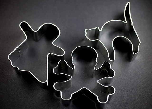 done: Halloween Cookie Cutters
