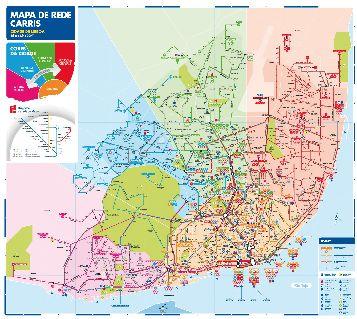 All of the public transportation in #Lisbon