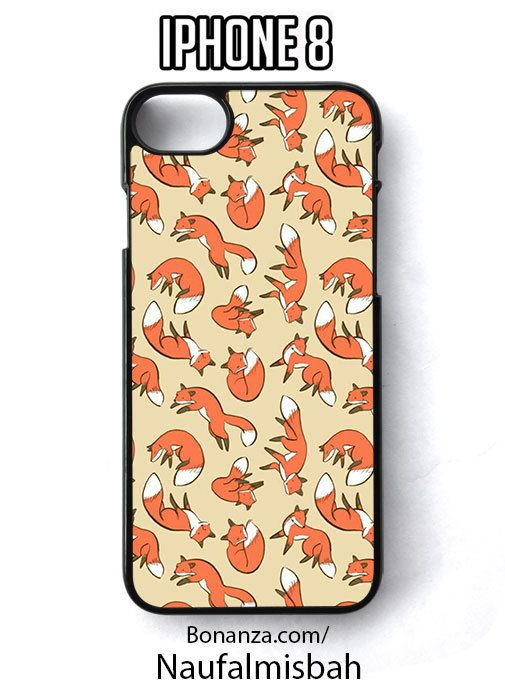 Red Fox iPhone 8 Case Cover - Cases, Covers & Skins