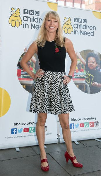 Sara Cox Photos Photos - Sara Cox arrives for Terry Wogan's Gala Lunch for Children In Need at the Landmark Hotel on November 01, 2015 in London, England. - Terry Wogan's Gala Lunch - Children in Need