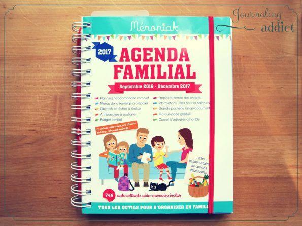 bullet journal les indispensables de la rentrée agenda familial memoniak 1
