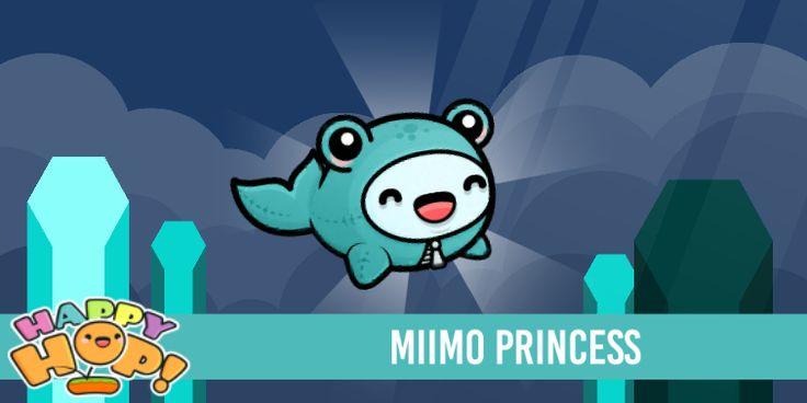 Miimo Princess from #HappyHop! @PlatonicGames https://itunes.apple.com/app/id1087482860 | platonicgames.com
