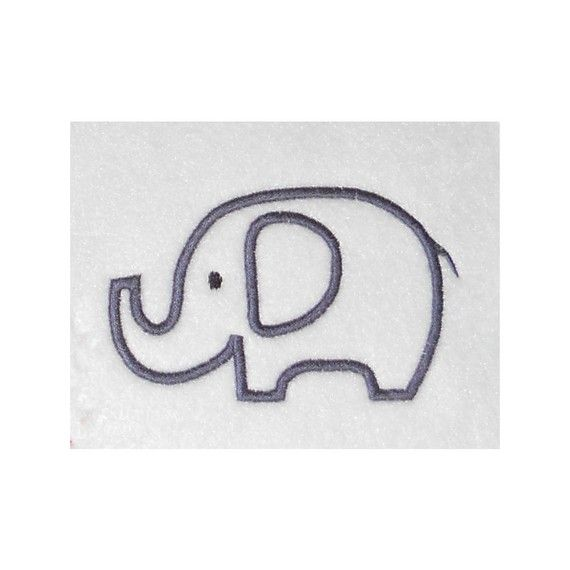 Free Machine Embroidery Applique Elephant Design