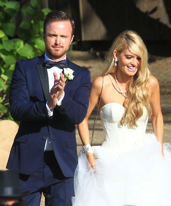 Aaron Paul and Lauren Parsekian Wedding