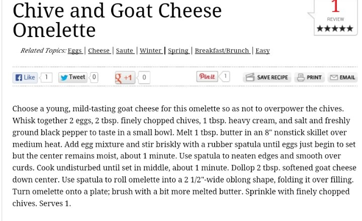 Omelet, Goat cheese and Goats on Pinterest