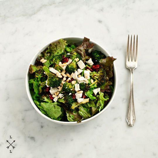 roasted broccoli, ricotta salata & cranberry saladApples Cider, Broccoli Salad, Roasted Broccoli, Ricotta Salata, Salad Recipe, Cranberries Salad, Broccoli Ricotta, Pine Nut, Dry Cranberries