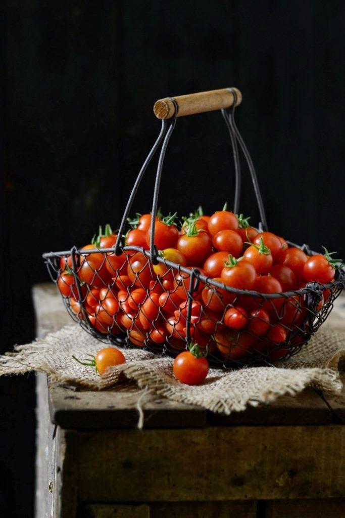 #Tomates cherry deliciosos...