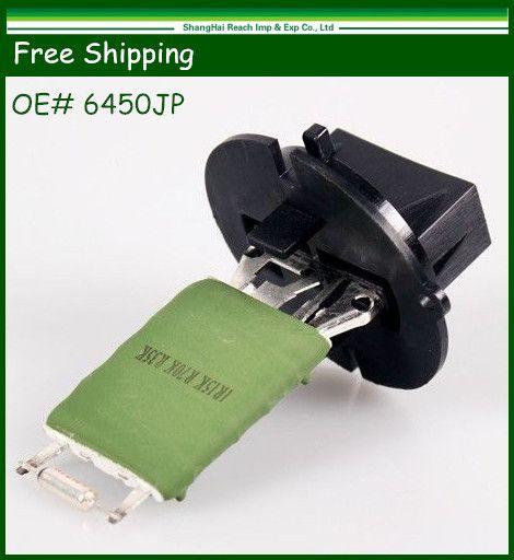 Free Shipping Heater Blower Motor Resistor for Peugeot 206 307 Citroen Xsara Picasso OE#: 6450JP