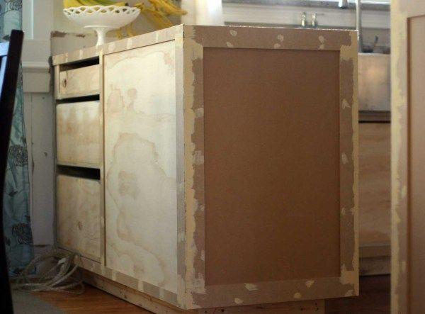 Kitchen Cabinet Face Frame End Panel Diy Furniture Life Hacks Organization Cabinet