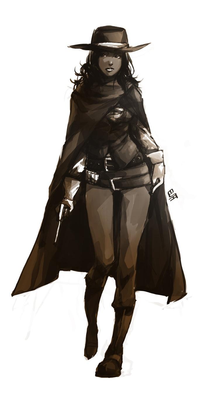 cowgirl dark