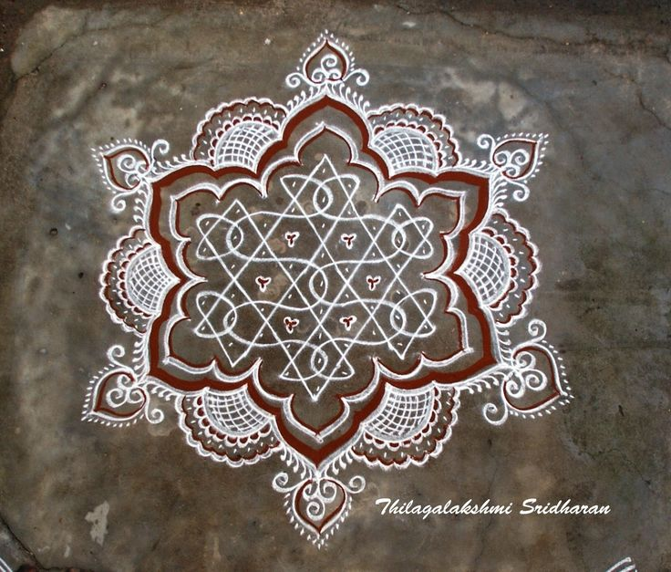 Rangoli and Art Works: MARGAZHI KOLAM