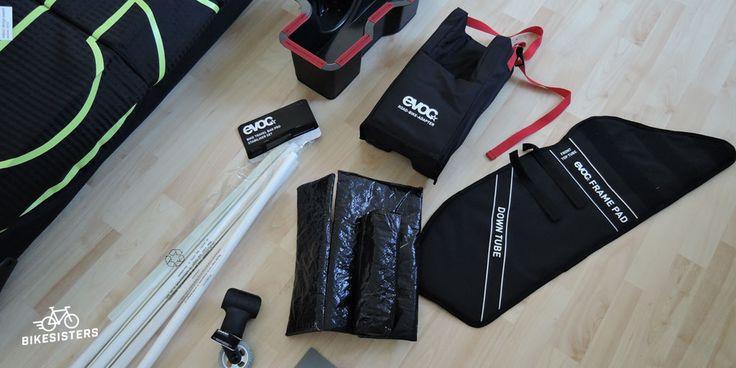 Test - Fahrrad Koffer: Inhalt Evo Bike Travel Bag Pro