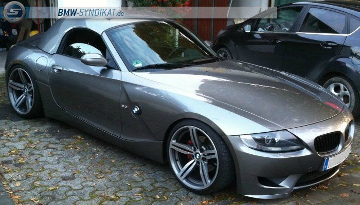 Z4m E85 Hardtop Rake Stance M6 Wheels Lowered Bmw