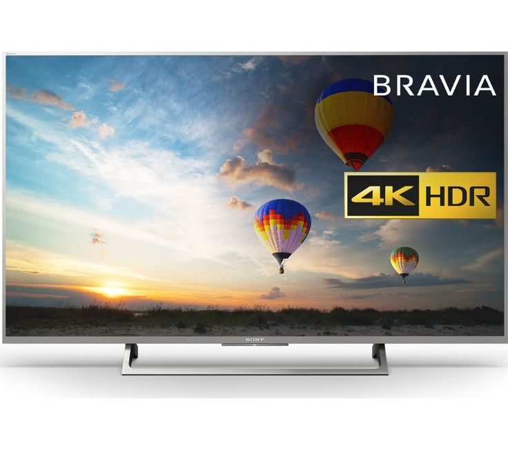"""Buy SONY BRAVIA KD43XE8077SU 43"""" Smart 4K Ultra HD HDR LED TV Price: £639.00 Top features: - 4K HDR with Triluminos display for clear and natural colour - Smart Android TV with 4K content from Netflix and Amazon Prime - Focus on the picture with a slim bezel 4K HDR with Triluminos display The Sony BRAVIA 4K HDR TV displays every image in incredible contrast and colour no matter what you..."""
