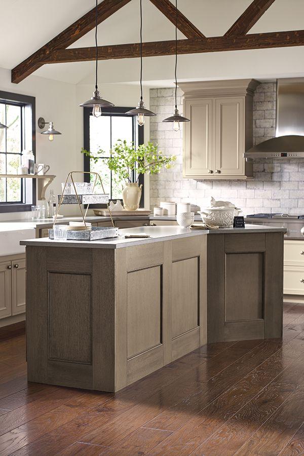Kitchen Island Design Ideas In 2020 Taupe Kitchen Taupe Kitchen Cabinets Decora Cabinets