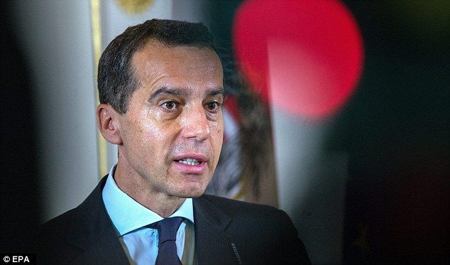 Austria's new chancellor has said: 'Whatever the outcome of the British referendum, afterw...