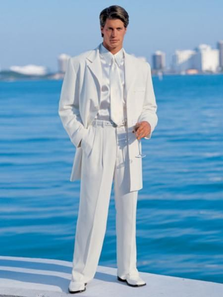 18 best All White images on Pinterest | White suits, Wedding ...