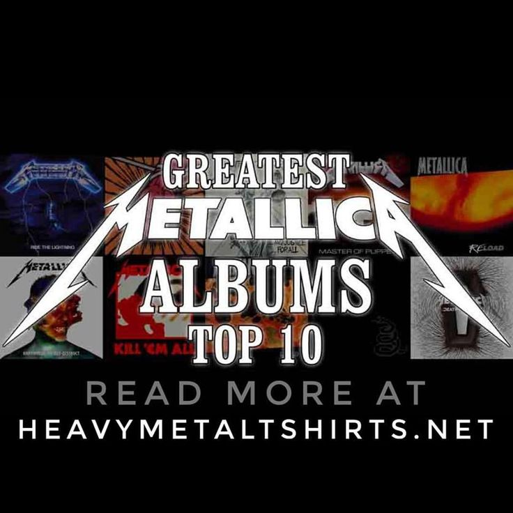 CHECK OUT Our Greatest Metallica Albums Top 10 List at HeavyMetalTshirts.net! What is your Greatest Metallica Album? And why? Like, Share and Comment your Opinions with Us!  #metallica #jameshetfield #killemall #ridethelightning #andjusticeforall #masterofpuppets #load #reload #stanger #hardwired #deathmagnetic #blackalbum #metal #metalmusic #metalheads #metalhead #headbang #headbanger #longlivemetal #metalband #headbangers #heavymetalband #heavymetalfans #metalfans #metalmusicfans #metalfan…