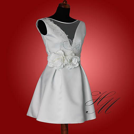 Haem / Svadobné šaty krátke