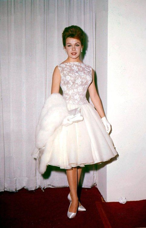Annette Funicello at the 1961 Oscars
