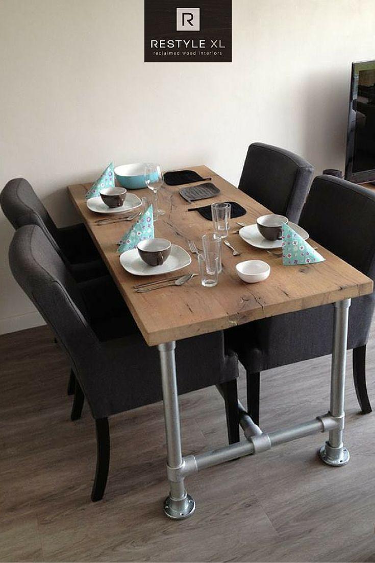 Meer dan 1000 idee n over houten tafels op pinterest for Hout voor tafel
